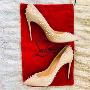 5ac06689bc2 Christian Louboutin Shoes | Merci Allen Patent Leopardino | Poshmark